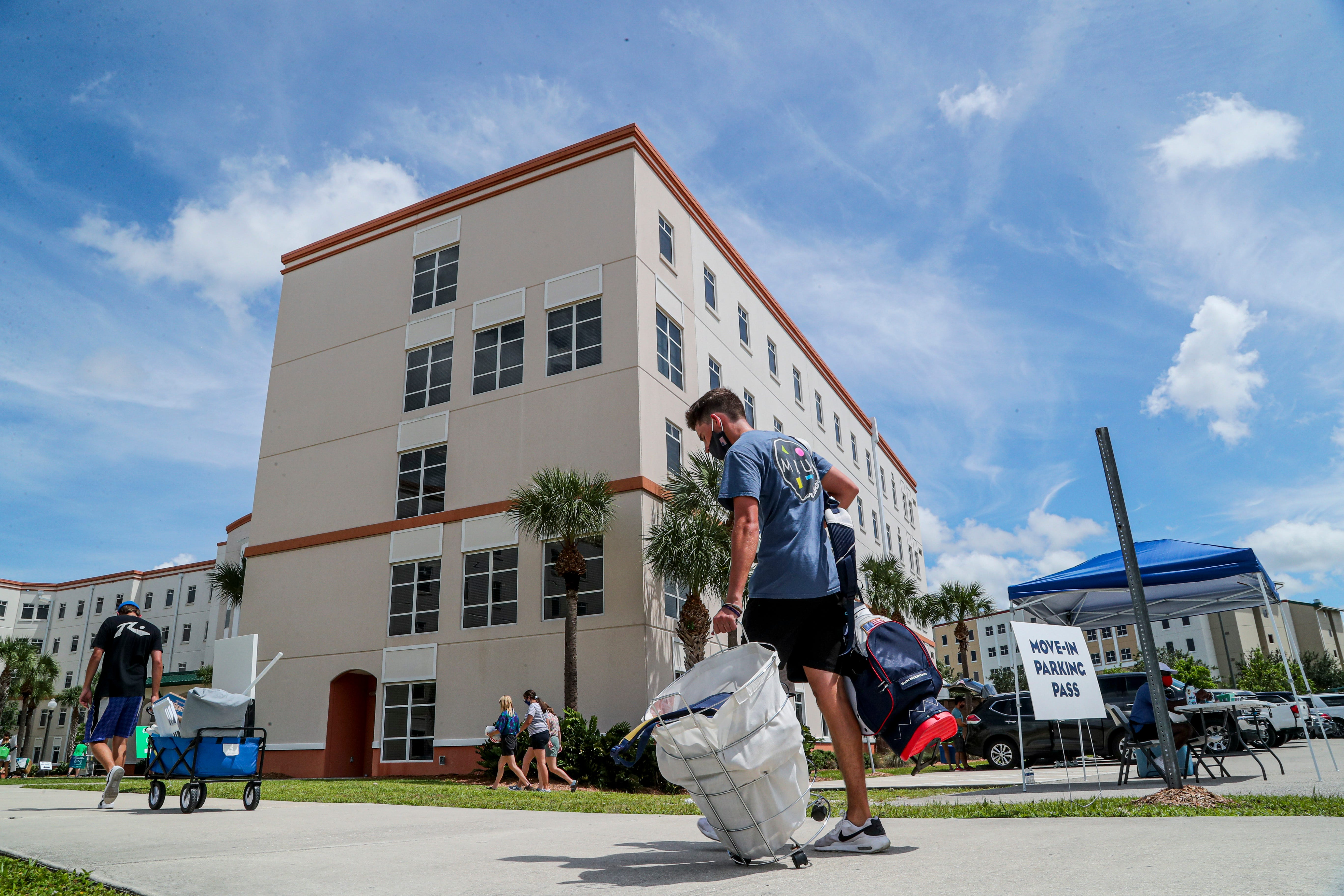 Fall semester at FGCU has begun with highlights on students moving in to campus dorms, the changes being seen on campus safety wise and the budget realities for what's to come.