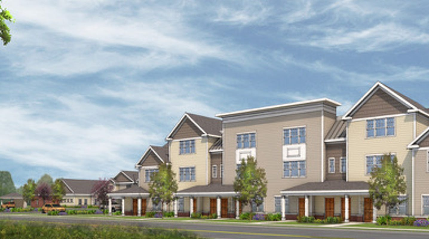 Plainfield to break ground on 58 townhouses