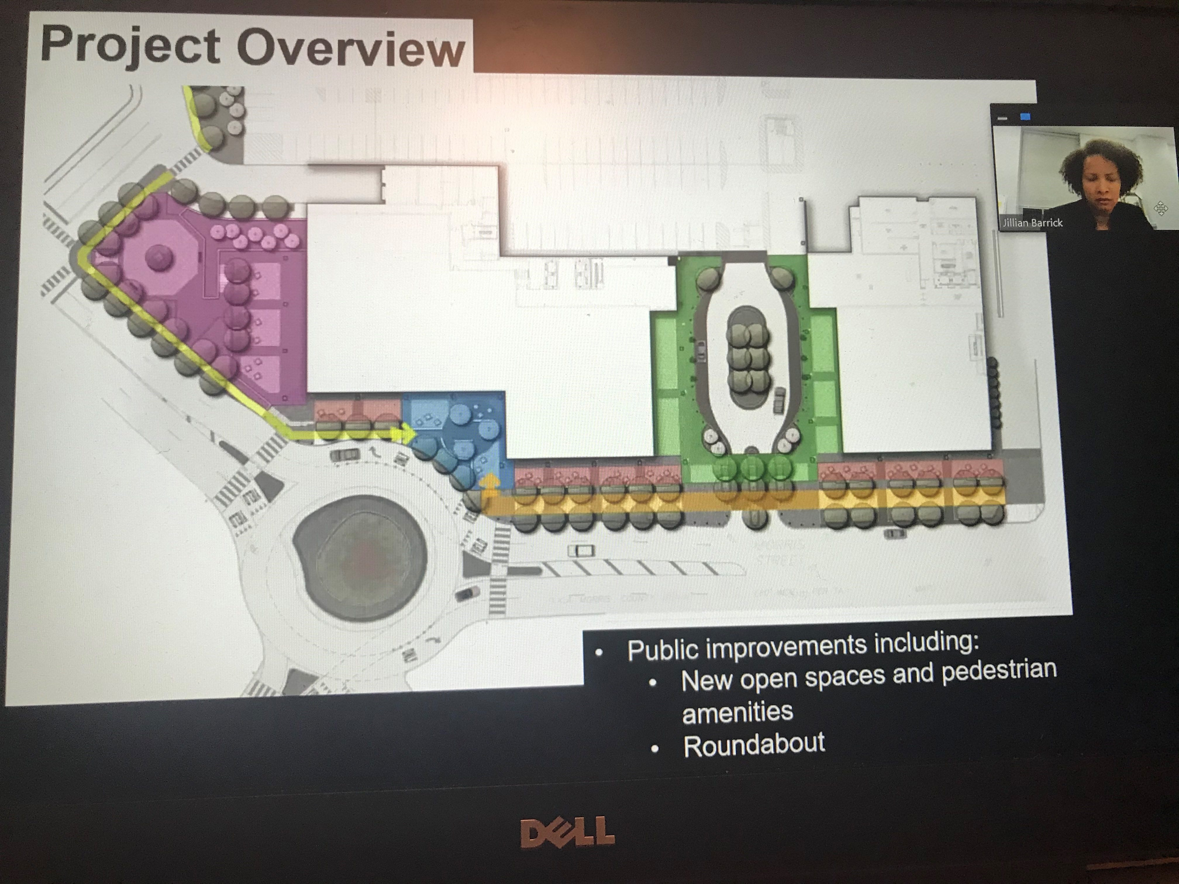 During Tuesday night's virtual town hall meeting, Morristown officials discuss M Station and its financial agreement.