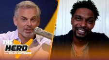 Chris Bosh talks NBA Finals, Jimmy Butler's toughness and LeBron Leaving Miami | THE HERD