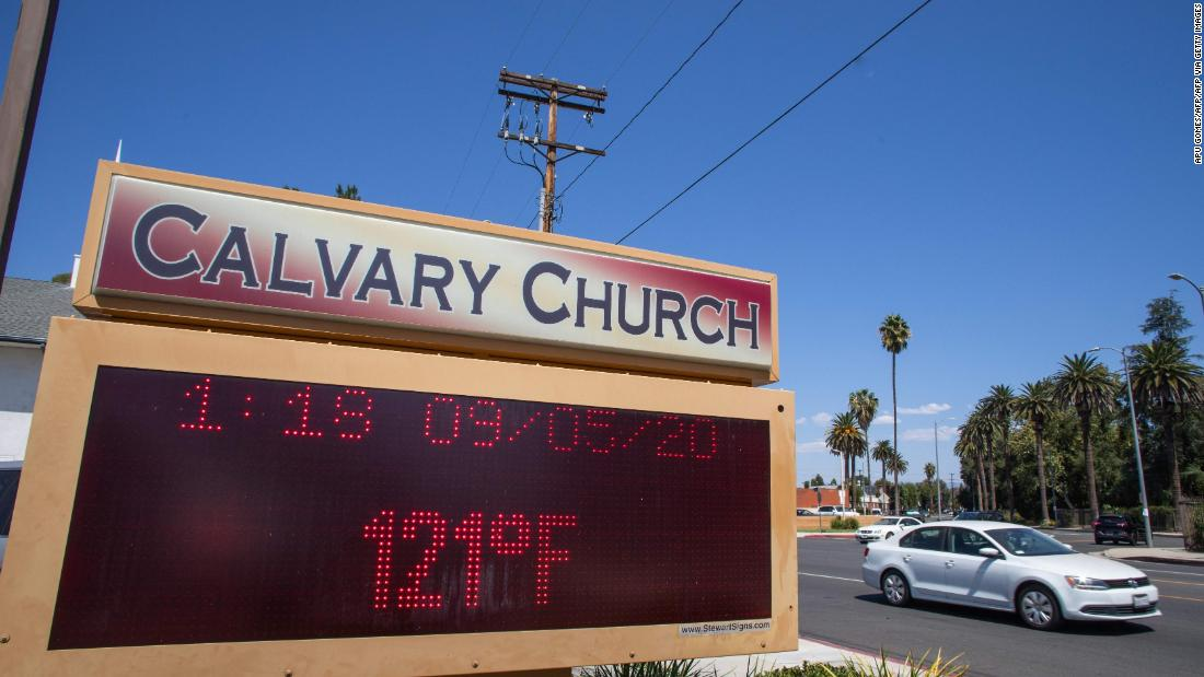 LA County records highest-ever temperature