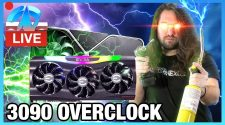 LIVE: RTX 3090 Overclocking (Air & Liquid Nitrogen)