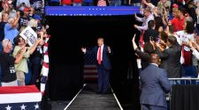 Trump Nevada rally first entirely indoor rally in nearly three months