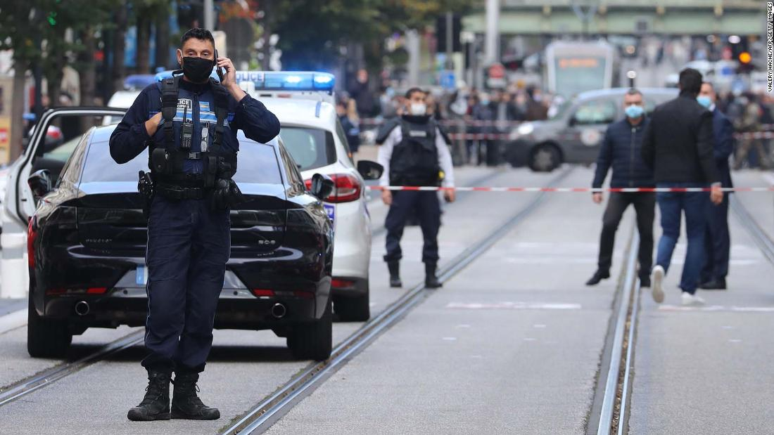 """Nice knife attack: French police responding to """"terrorist"""" attack, mayor says"""