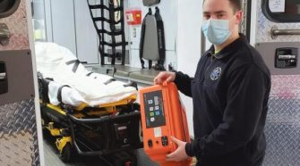 Ambulance Volunteers Fending Off COVID With Diligence, Technology