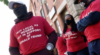Black officers break from police unions over Trump endorsements