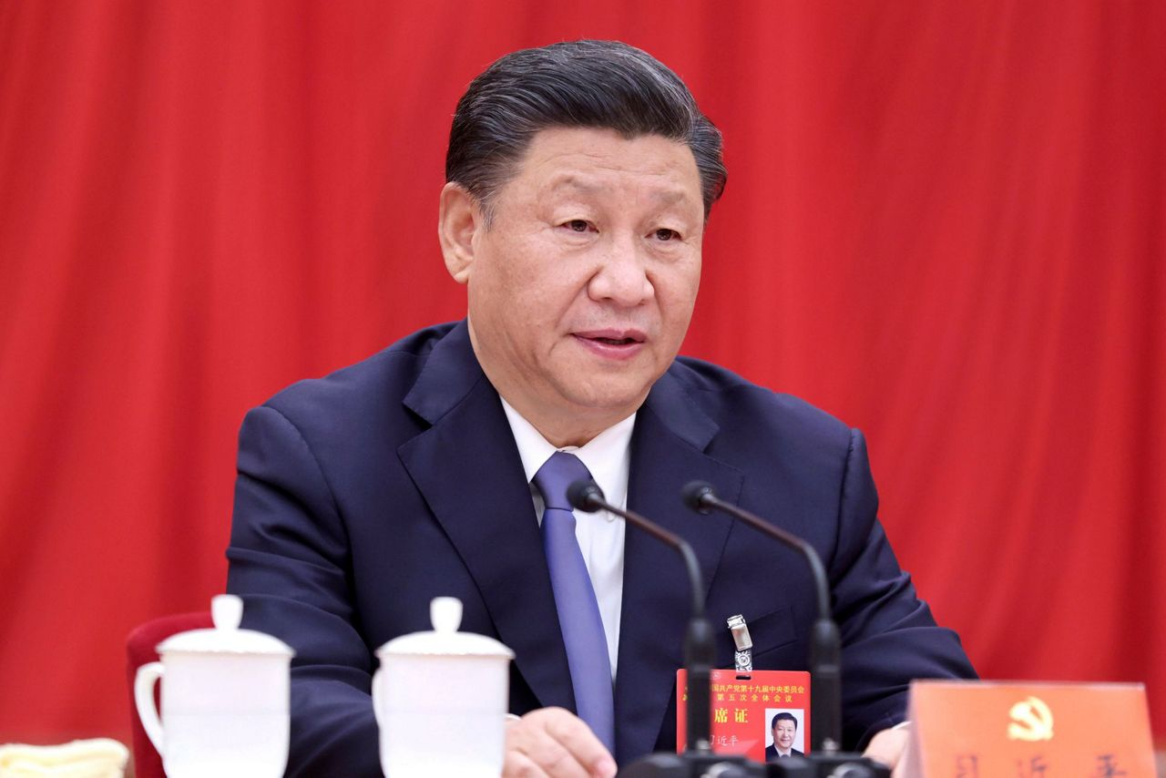Chinese leaders target ascent as a 'technology power'