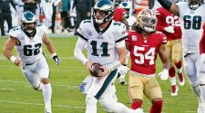 Eagles vs. 49ers score: Carson Wentz, Philly defense step up to upset San Francisco and take NFC East lead