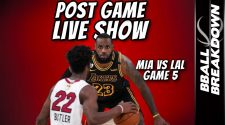 Heat vs Lakers Game 5 NBA Finals Post Game LIVE Show - BBALLBREAKDOWN