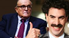 How Rudy Giuliani Got Caught Red-Handed With Borat's Daughter