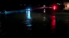 Huge water main break floods west El Paso streets; dozens may be without water for 12 hours