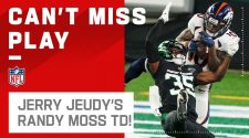 Jerry Jeudy Pulls His Best Randy Moss on the Jets for his 1st NFL TD