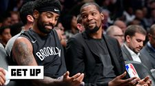 Kyrie Irving responds to perceived shot at LeBron. Jalen Rose reacts | Get Up