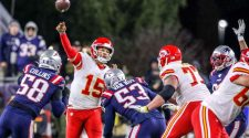 New England Patriots-Kansas City Chiefs planned for Monday