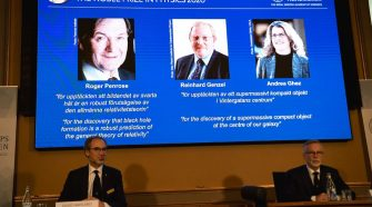 Nobel Prize in Physics Awarded to 3 Scientists for Work on Black Holes