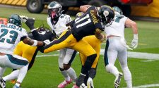 Steelers vs. Eagles score: Chase Claypool's record performance propels Pittsburgh to 4-0 start