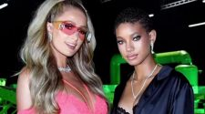 Willow Smith & Paris Hilton STUN As 'Queens Of Savage' In Backstage Lingerie Shots