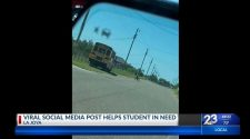Social media post helps student struggling with hotspot to get better technology | KETK.com