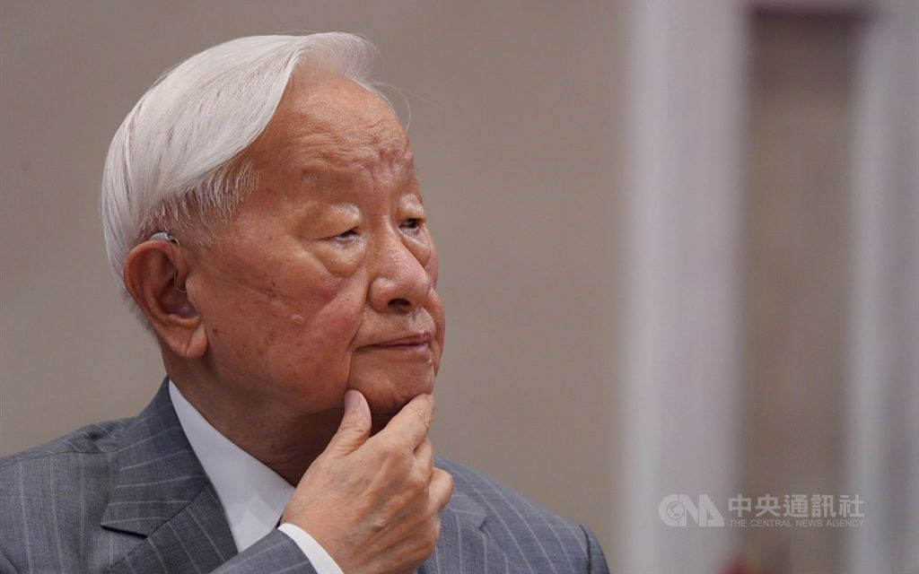 TSMC founder Morris Chang. CNA photo Nov. 21, 2020