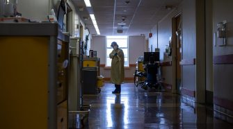 Health care workers literally lose sleep over the pandemic.