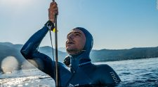 Arnaud Jerald: Record-breaking free diver explains the thrill of exploring ocean depths