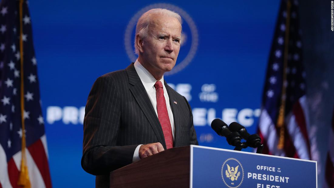 Biden win recognized by key government agency and formal transition begins