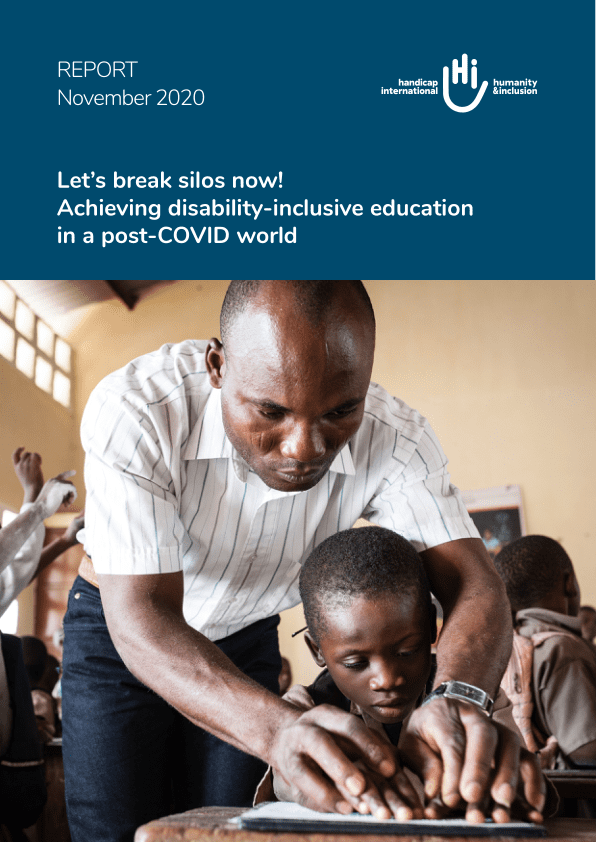 Let's break silos now! Achieving disability-inclusive education in a post-COVID world - World
