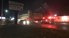 Roanoke Fire responds to fire at Days Inn on Orange Ave.