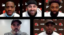 Watch the Browns break down their game against the 1-9 Jaguars today