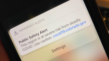 Colorado Department of Public Health and Environment sends phone alert to Level Red counties