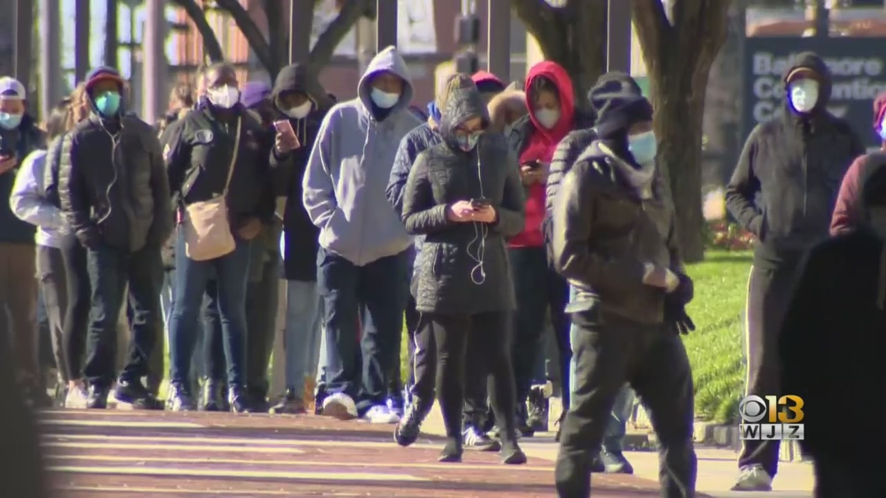 As COVID-19 Testing Numbers Shot Up In Recent Days, Health Officials Believe People Are Still Traveling For Thanksgiving – CBS Baltimore