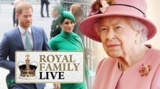 Royal Family LIVE: Queen's gamble backfires as Meghan & Harry risk breaking royal protocol | Royal | News