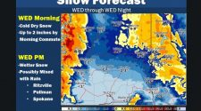 Six inches of snow possible Wednesday could break branches, power lines