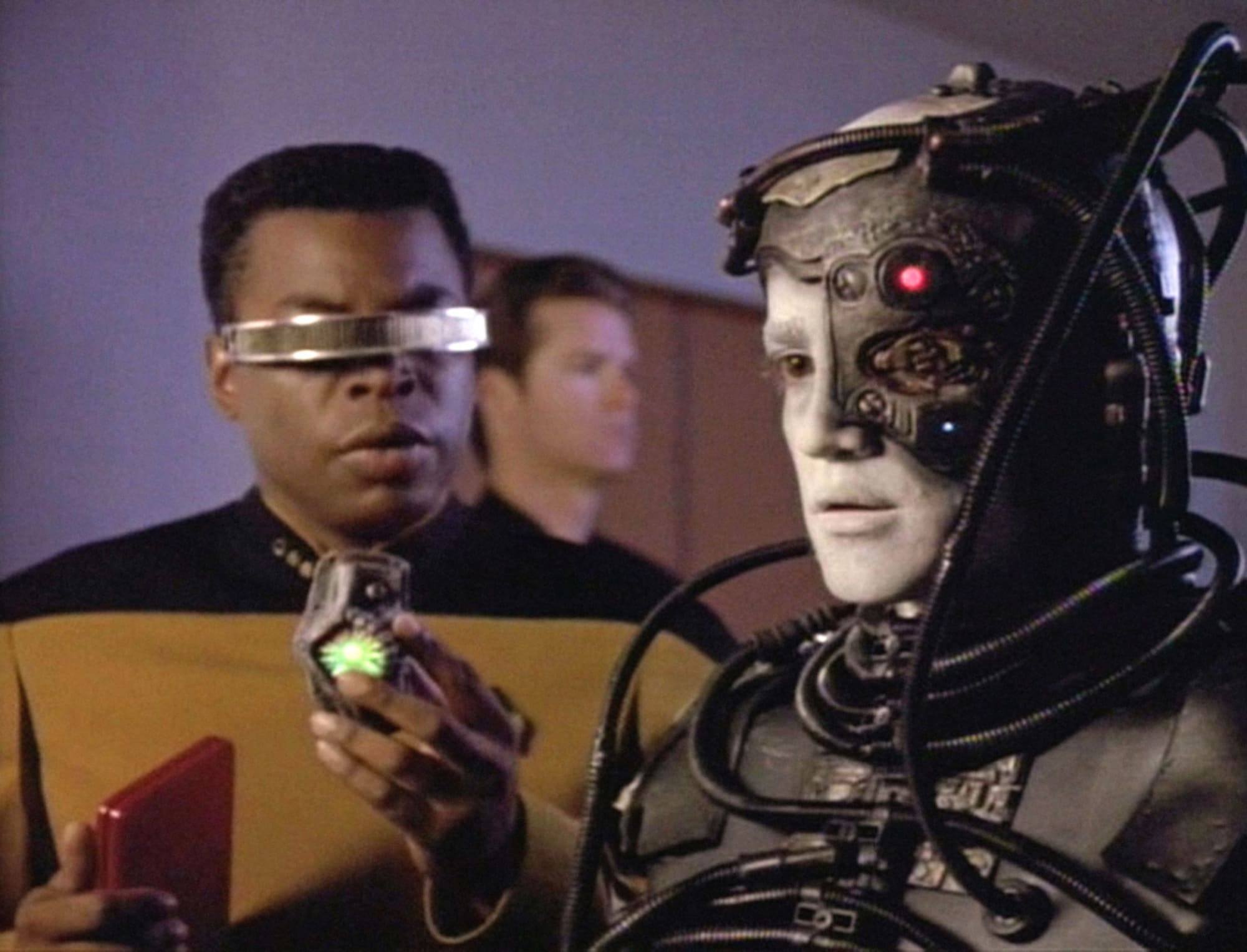 Technology will rot your brain, a precaution told by Star Trek