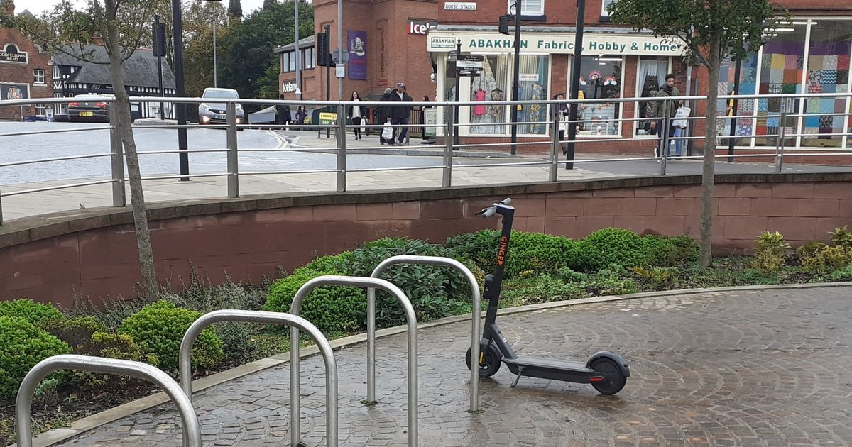 Law-breaking parents slammed for letting kids ride Chester e-scooters