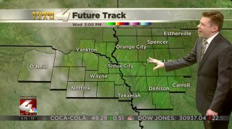 Chilly temperatures Wednesday with some sunshine breaking through