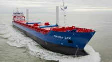 Dutch Cargo Ship Sails with New Wind-Assisted Technology