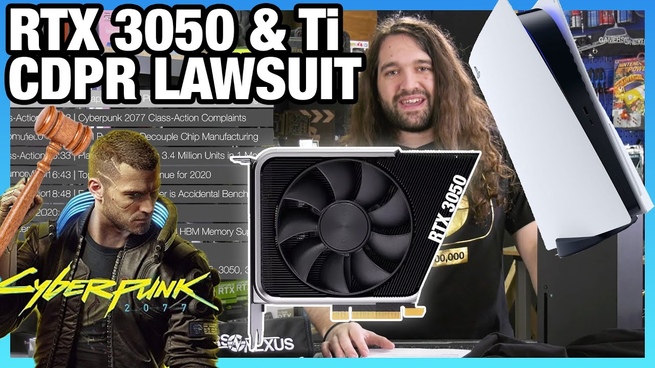 HW News - Cyberpunk 2077 Lawsuits, RTX 3050, Intel Told to Spin-Off Fabs, PlayStation 5 Sales - Gamers Nexus