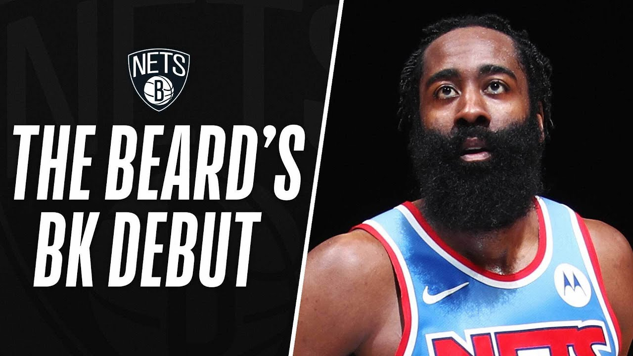 James Harden's HISTORIC Brooklyn Debut | 32 PTS, 12 REB, 14 AST - NBA