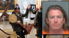 Man Seen Carrying Lectern During Capitol Riot Arrested in Florida – NBC 6 South Florida