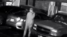 Man caught on camera breaking into cars at Bossier City apartment complex