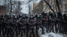 Pictures From Russia Protests - The New York Times
