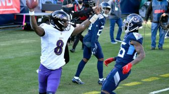 Ravens at Titans score: Lamar Jackson turbos past Tennessee in comeback victory, Derrick Henry shut down