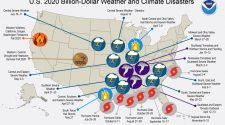 Record-breaking: Weather disasters in 2020 total $95 billion in damage