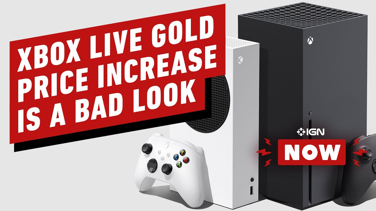 Why Xbox Live Gold Price Hike is a Bad Look for Microsoft - IGN Now - IGN