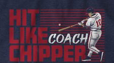 Introducing the 'Hit Like Coach Chipper' shirt from Breaking T