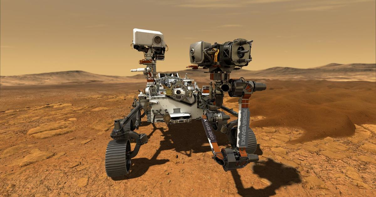Facebook live to explain how Mars Perseverance Rover will use technology to look for signs of life
