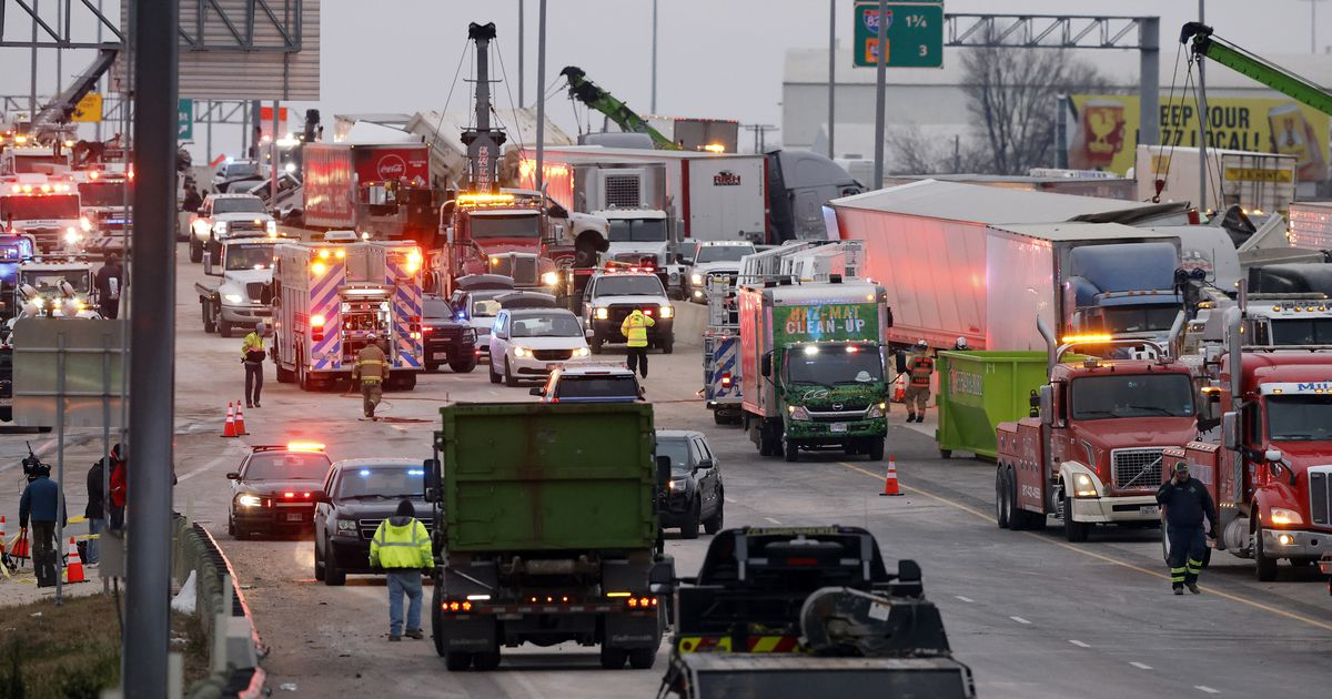 5 victims identified in massive 133-car pileup in Fort Worth that killed at least 6 people