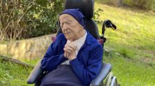 COVID-defying nun toasts 117th birthday with wine and prayer