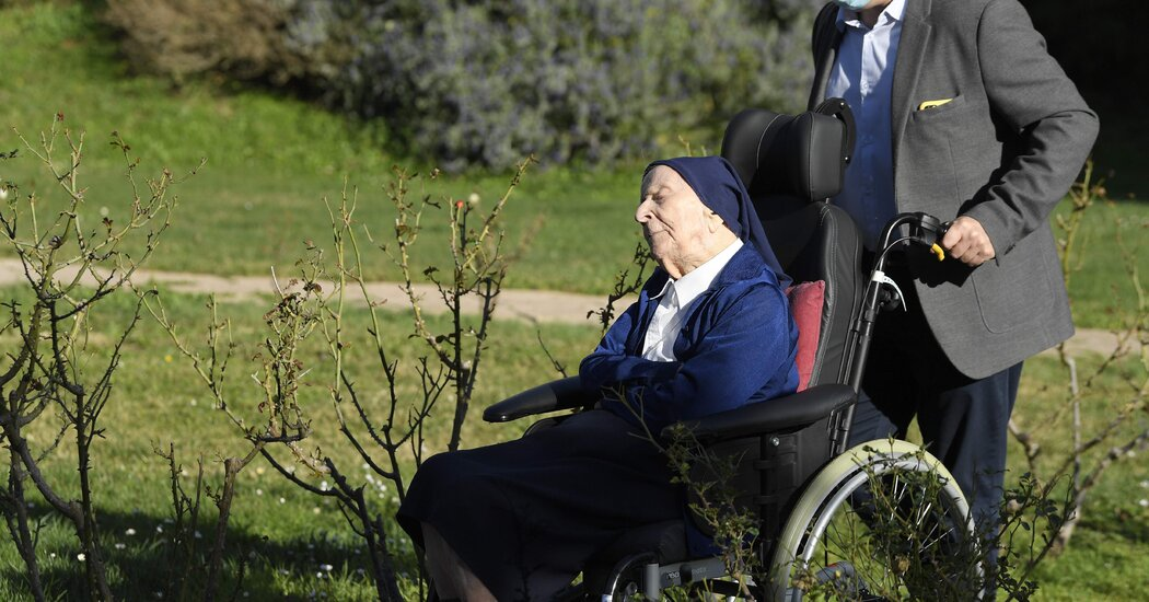 French Nun Sister Andre, Close to Turning 117, Knocks Down Covid-19
